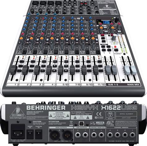 Mixer Audio Behringer 16 Chanel behringer xenyx 16 channel mixer random