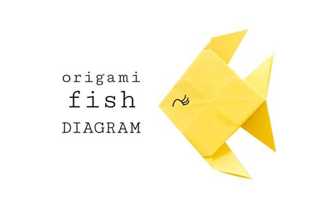 Origami Fish - traditional origami fish
