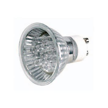 Lu Downlight Tempel gu10 led reflector l in white temple webster