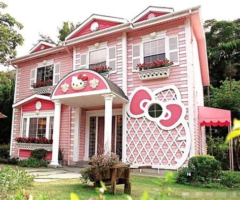 hello kitty house castle china cute dream house hello kitty image