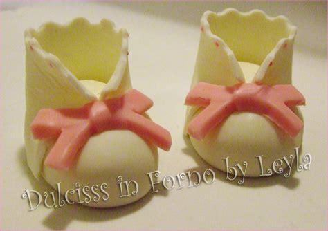 fiori in pdz passo passo scarpine neonato o bambino in pasta di zucchero tutorial