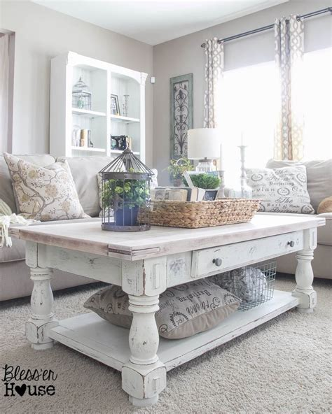 27 Rustic Farmhouse Living Room Decor Ideas For Your Home Decorations For Living Room Tables