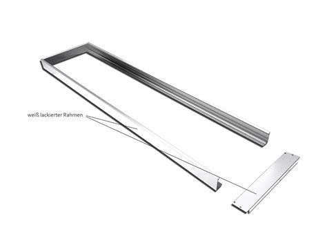 alu decken txl24 alu aufbaurahmen 120x30cm weiss f 252 r led panel f 252 r