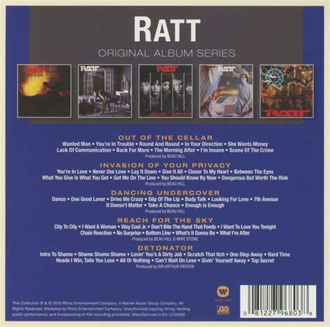format cd original ratt original album series cd opus3a