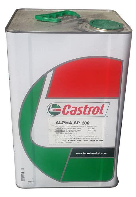 castrol alpha sp   kg castrol sanziman yaglari