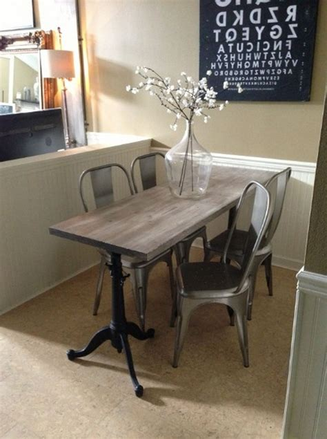 narrow dining table ideas  fit  small spaces