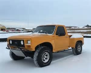 Ford Runner Grabber Orange Pre Runner Build 1986 Ford F150 Bring A