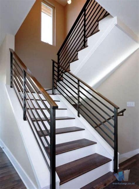 model railing tangga pegangan kayu archives harga kanopi