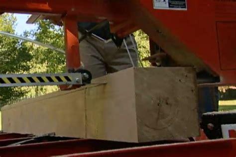 cut planks   fallen tree ron hazelton