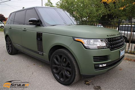 army green range rover range rover full size exterior makeover vehicle
