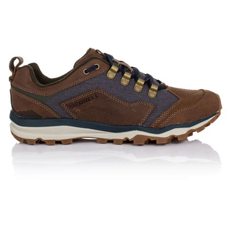 merrell all out crusher mens brown sneakers running sports