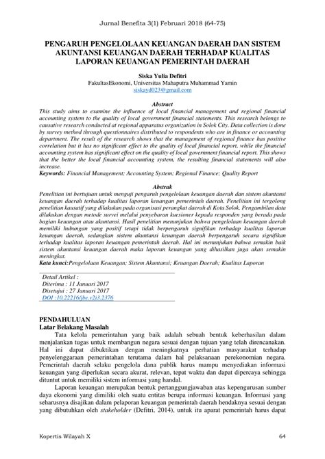 Content Judul Skripsi Akuntansi Keuangan Daerah Search Results