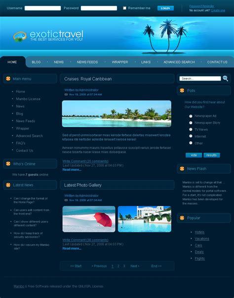 joomla travel templates travel joomla template 24389
