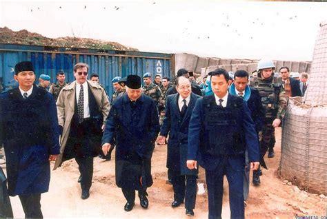 Beribu Alasan Rakyat Mencintai Pak Harto mengenang lawatan kontrak mati presiden soeharto dalam upaya membantu muslim bosnia