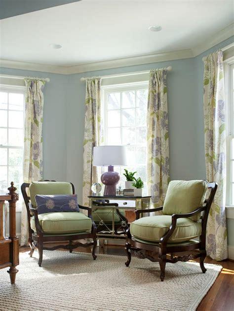 vorhänge mintgrün schlafzimmer farbe lagune