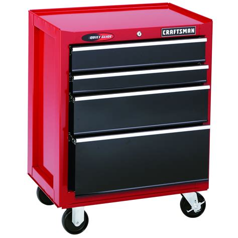 craftsman 6 drawer tool box quiet glide chest craftsman 26 quot wide 4 drawer quiet glide bottom chest