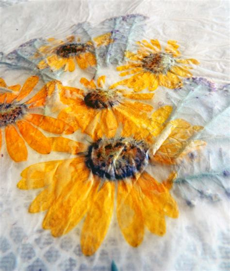 How To Make Wax Paper Flowers - let cool and there you go you might want to go back