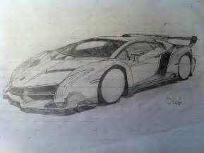 How To Draw A Lamborghini Veneno Step By Step How To Draw A Car Drawing Lamborghini Veneno