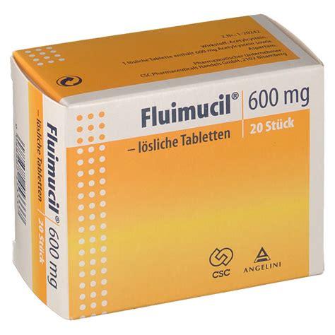 Fluimucil 600 Mg fluimucil 174 600 mg shop apotheke at