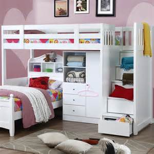 High Sleeper Bed With Stairs by Willow Childrens High Sleeper Bed