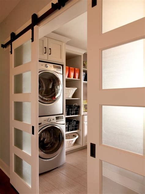 laundry room sliding doors well organized laundry rooms that take the hassle away