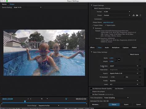 adobe premiere pro hd export settings export gopro videos in premiere pro vidpromom