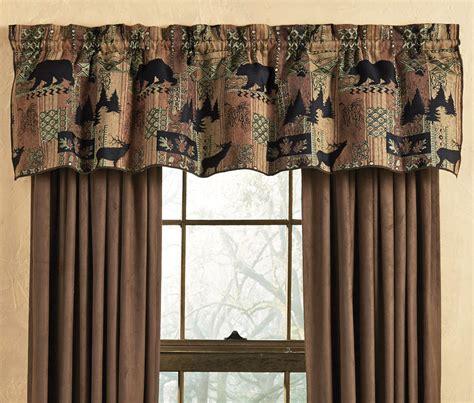 Smoky Mountain Tapestry Valance