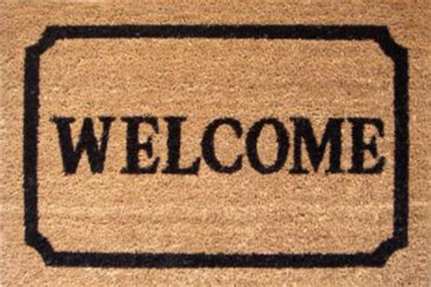 welcome mat second marketplace talking welcome mat 10 random