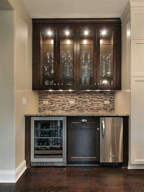 small wine or bar home bar design