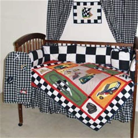 Car Crib Bedding Set Race Car Crib Bedding By Patch Magic