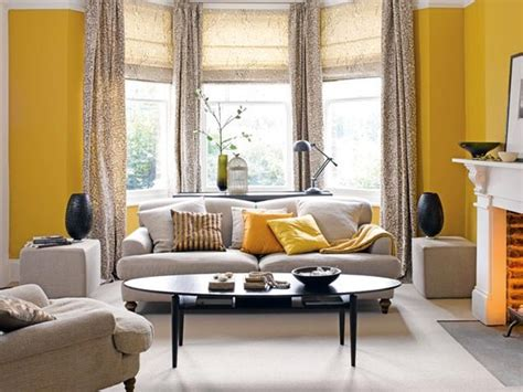 living room yellow walls gray and yellow dream home pinterest