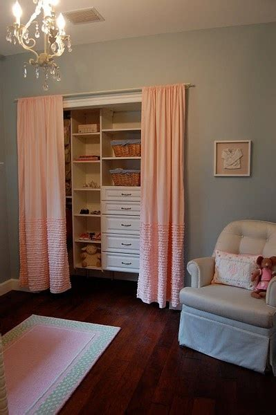 Closet Place by Big Fan Of Curtains In Place Of Closet Doors Will Be Doing This In New Place In All The Rooms