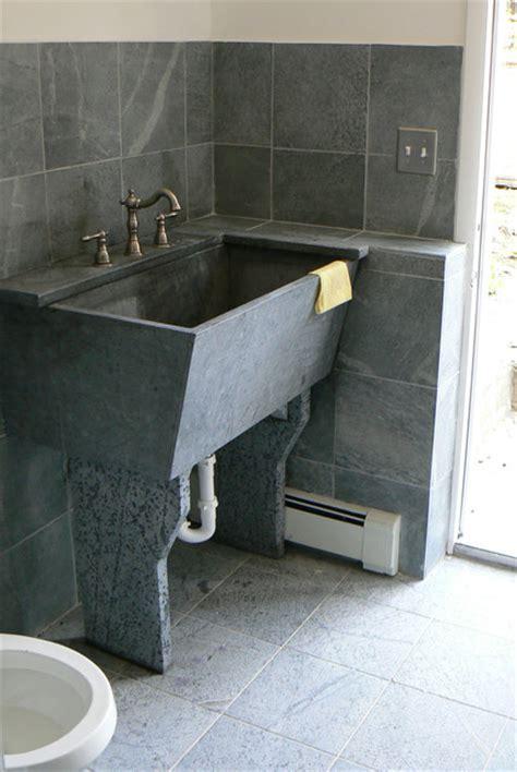 Soapstone Utility Sink - soapstone laundry room sink traditional laundry room