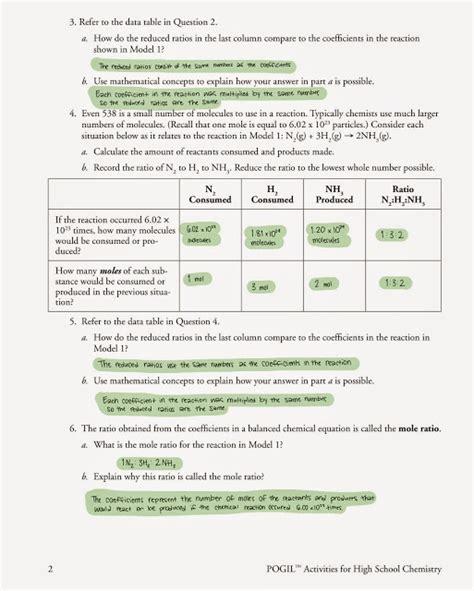 Mole Ratio Worksheet by Mole Ratio Worksheet Lesupercoin Printables Worksheets