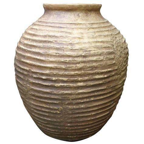 Faux Planters Urns by Large Faux Terracotta Grecian Style Urn For Sale At 1stdibs