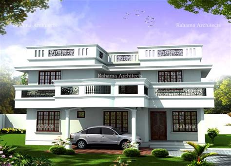 Small Home Design With Front Balcony House Front Balcony Design