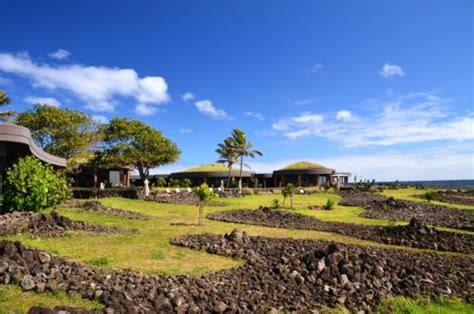 one of a kind experience: hangaroa ecovillage hotel on