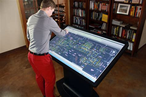 100 best gadgets for architects multitouch drafting multitouch drafting table for architects designers