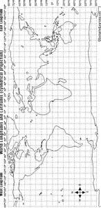 blank map with latitude and longitude
