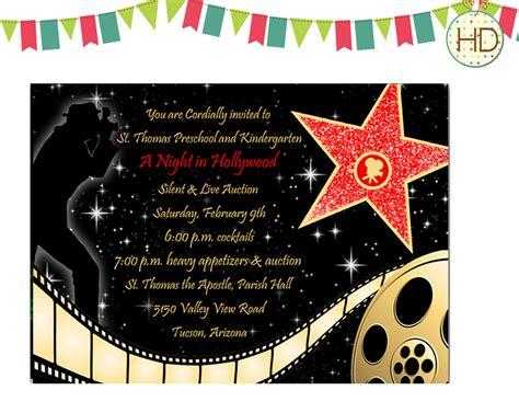printable hollywood invitation templates 40th birthday ideas hollywood birthday invitation