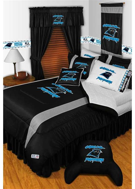 panthers bedding 5pc new nfl carolina panthers comforter bed sheets
