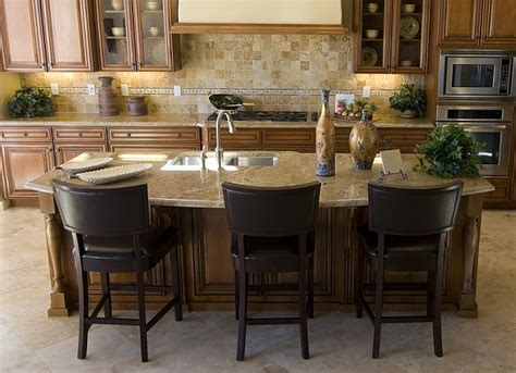 Kitchen Island Table With 4 Chairs by Setting Up A Kitchen Island With Seating