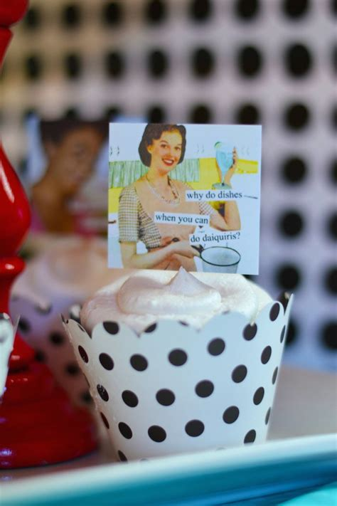 1950s happy housewife bridal shower karas party ideas kara s party ideas 1950 s housewife themed bridal shower