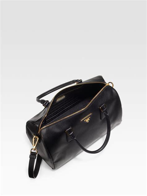 Givenchy 3in1 lyst prada saffiano boston bag in black