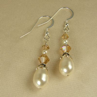 Handmade Earring Ideas - handmade pearl jewelry search jewelry