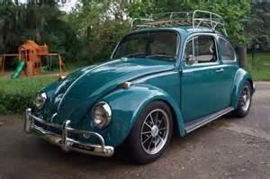 1967 volkswagen sunroof beetle java green cal look brm