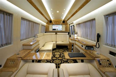 Mercedes Sprinter Custom Interior by Sprinter Interiors Becker Automotive Design S