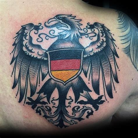 german tattoos for men 50 german eagle designs for germany ink ideas