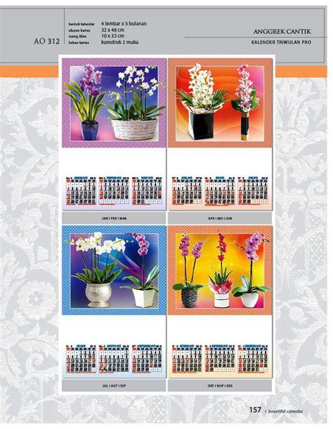 desain kalender triwulan kalender 2015 triwulan ao design wall calendar
