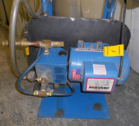 mustang 12e water jetter high pressure washer w power cord